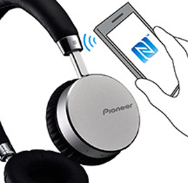 Pioneer bluetooth hovedtelefon SE-MJ561BT-S