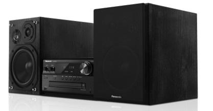 Panasonic microanlæg PMX70 sort - Panasonic microanlæg PMX70 sort Klar lyd uden forvrængning 3-vejs højttaler med diskantenhed med silkekuppel PMX70 gengiver en flot udtryksfuld og dynamisk klang, der passer perfekt til højopløselig lyd. Dette er takket være kombinationen af et 3-vejs høj