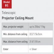universal beslag og ophæng til projector