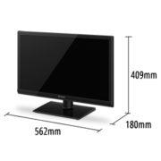 24 tommer LED TV