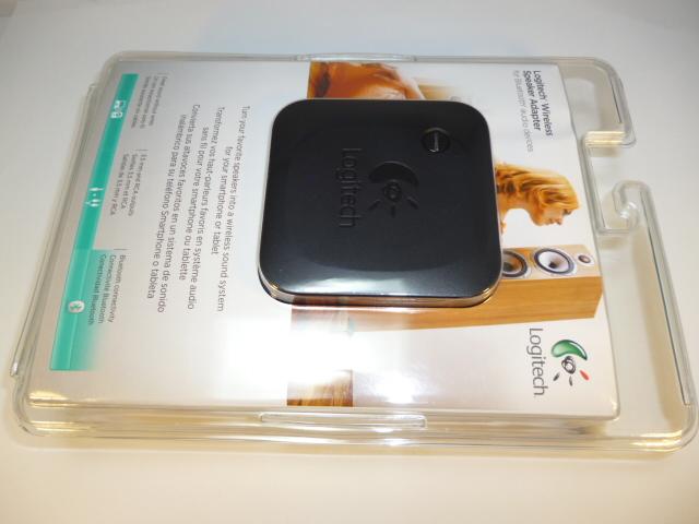 Logitech Bluetooth modtager - Logitech WRLS SPKR Bluetooth modtager Tilslut denne Logitech bluetooth modtager til f.eks dit stereoanlæg og få lyden fra din mobil enhed ud i din stue. Logitech WRLS SPKR bluetooth adapter er meget brugt til især B&O anlæg og ældre som nyere stereo anlæg