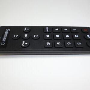 Senior fjernbetjening til Samsung Tv